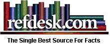 Since 1995, free and family friendly. Refdesk indexes and reviews quality, credible, and current information-based sites and assists readers in navigating these sites.